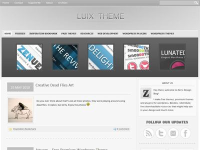 Free Interior Design Magazines on Luix Is A Free Wordpress Magazine Theme With Premium Features Such As